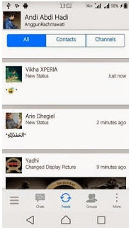 Download New BBM MOD  Style Iphone White Versi 2.7.0.23 Free Apk