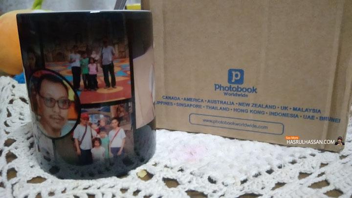 Mug Photobook - Hadiah Harijadi Istimewa Dari Isteri
