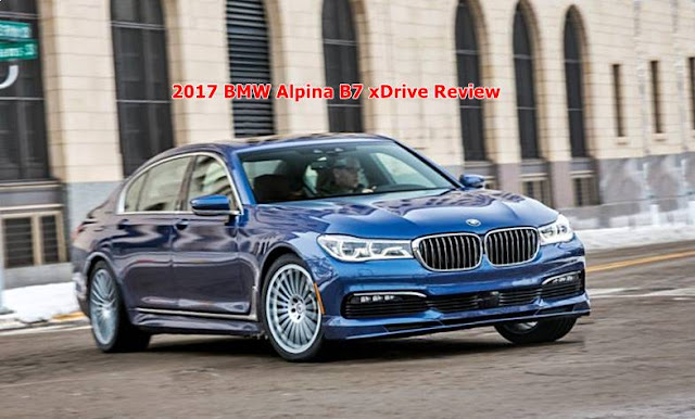 2017 BMW Alpina B7 xDrive Review
