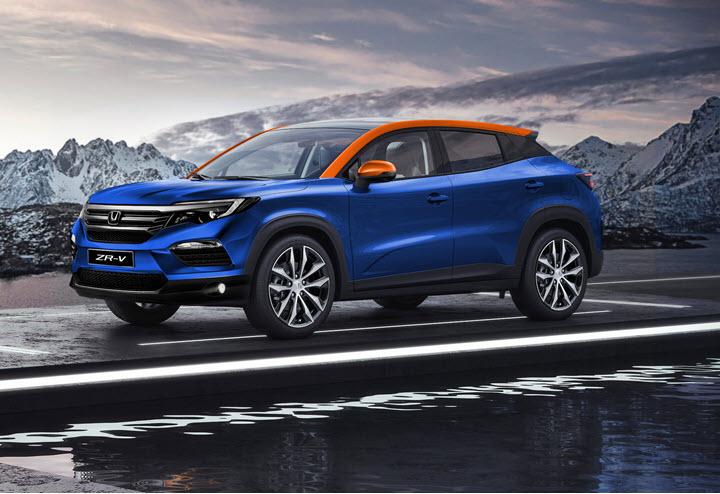 Xem trước Honda ZR-V - Đối trọng đồn đoán mới của Hyundai Kona và Kia Seltos
