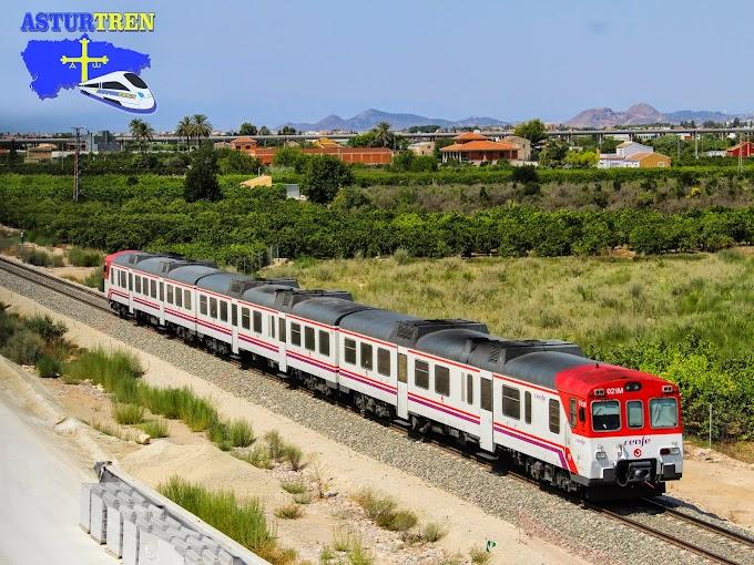 Adif ejecutará trabajos de mejora en la línea ferroviaria Murcia -Cartagena  en Agosto