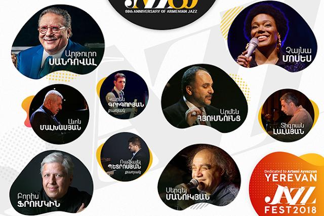 Arturo Sandoval abrirá el Yerevan Jazz Fest 2018