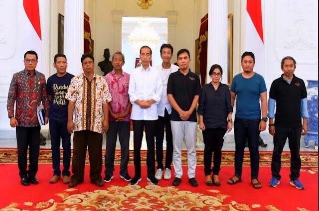 Unjuk Rasa Para Petani Diterima di Istana, Presiden Jokowi Akan Tindaklanjuti Aspirasi Petani