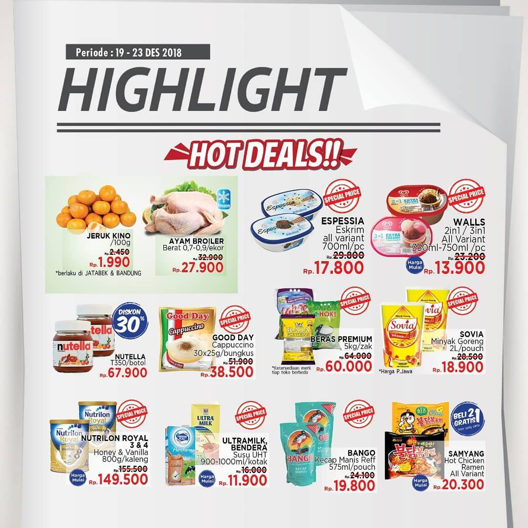 #LotteMart - Promo Katalog Weekend Periode 19 -23 Desember 2018