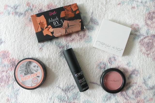 Blush, Blusher, Makeup, Favourites, Sleek, Sleek Makeup, Soap & Glory, Soap & Glory Makeup, Kiko. MAC, MAC Cosmetics, id Cosmetics, pink, pretty