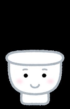 トイレのキャラクター(閉じた状態)