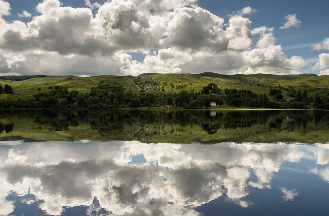 Photo of reflections on Loch Awe