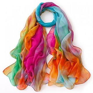 Multicolor Ombre Scarf