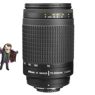 Lensa TELE Nikon 70-300 AFD For Body Motor