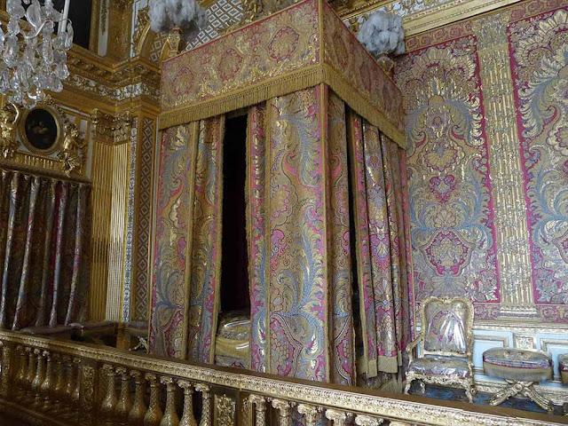 chambre de louis XIV