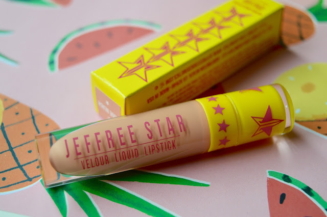 Jeffree Star Nude Beach Lipstick review