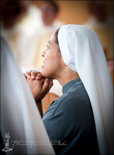 Franciscan Sisters TOR prayer
