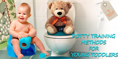 Potty training methods for young toddlers