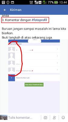 terkait foto profil fb tidak muncul