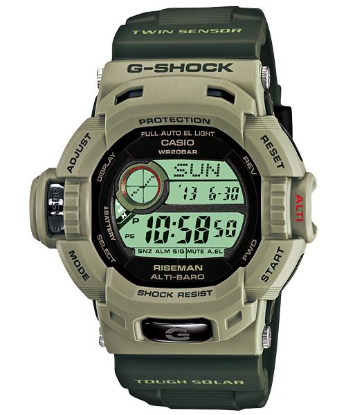 Casio G-Shock Solar Men in Military RISEMAN Watch G-9200ER-3 f1755a8d2fd8