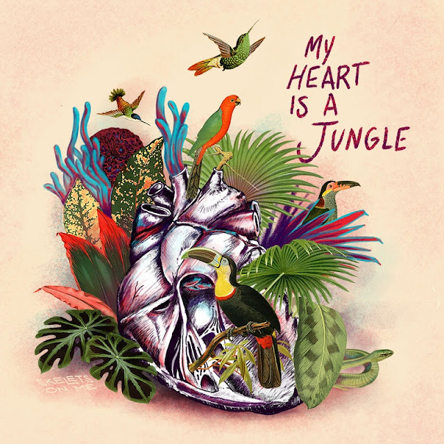 SKELETS ON ME - MY HEART IS A JUNGLE