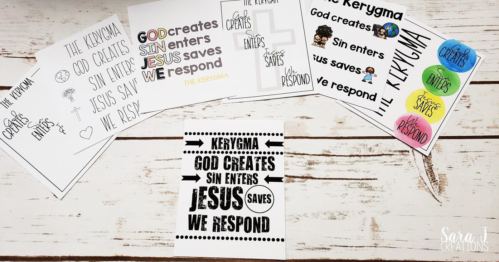 Help kids to know the kerygma - which is proclaiming the Gospel. Teach your children to know God, sin, and that Jesus Christ saved us all. Use these tools to make teaching the Kerygma to kids even easier. Informative videos for adults, engaging videos for students, plus free printable posters.