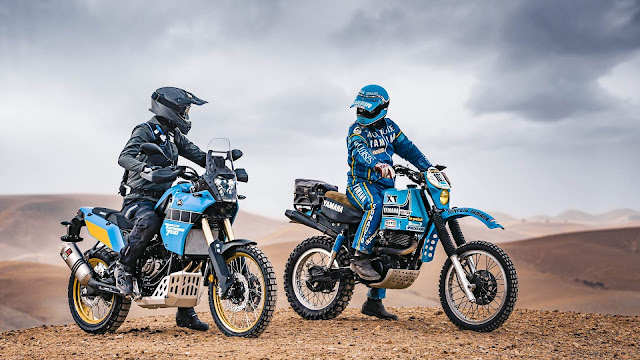 Ténéré 700 Rally Edition and XT600 Ténéré