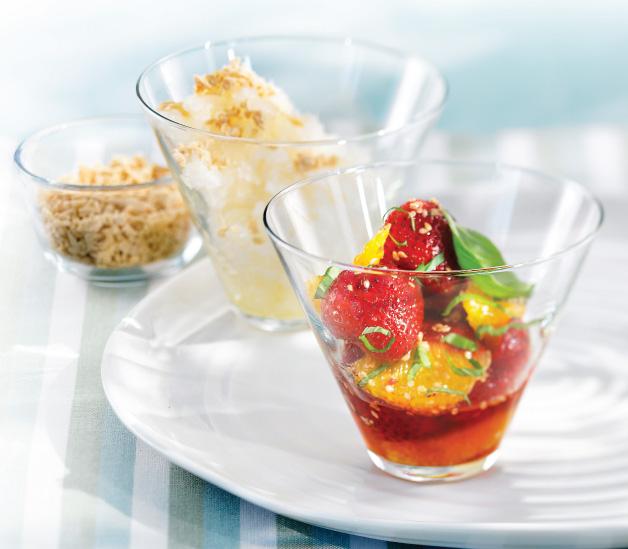 Strawberry And Orange Salad...