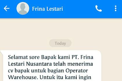 PT Frina Lestari Nusantara (FLN) Kawasan Industri GIIC