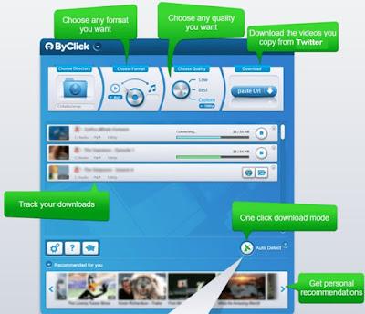 download twitter dengan aplikasi byclick downloader