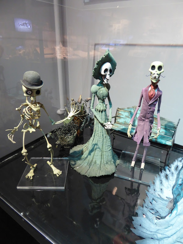 Corpse Bride stop-motion puppets