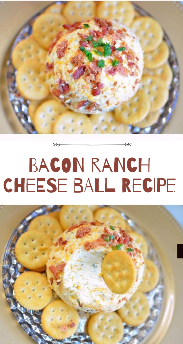 Bacon Ranch Cheese Ball Recipe