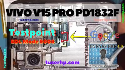 Vivo V15 Pro EDL Test Point