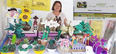 Flores cactus lembrancinhas tudo em E.V.A