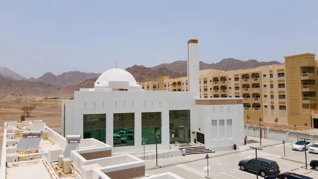 في طريقها نحو مستقبل مستدام ، تحصل دبي على مسجد جديد صديق للبيئة