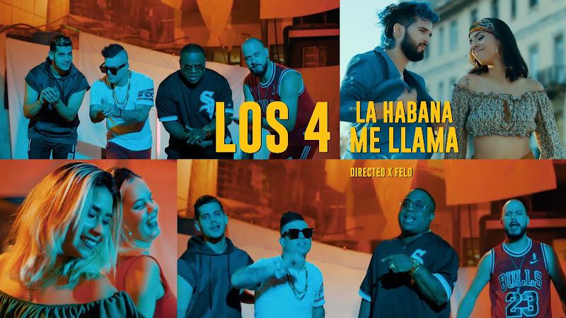 Los 4 - ¨La Habana me llama¨ - Videoclip - Director: FELO. Portal Del Vídeo Clip Cubano