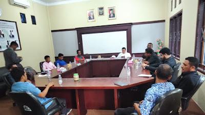 Dua OKP Di Kepsul Hearing Dengan DPRD Komisi I