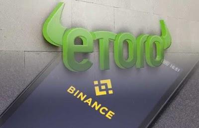 eToro se convierte en la primera plataforma de inversión en ofrecer Binance Coin (BNB)