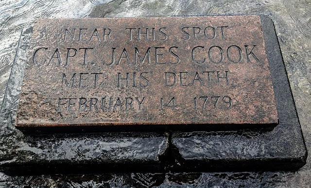 Tempat Kapten James Cook mati
