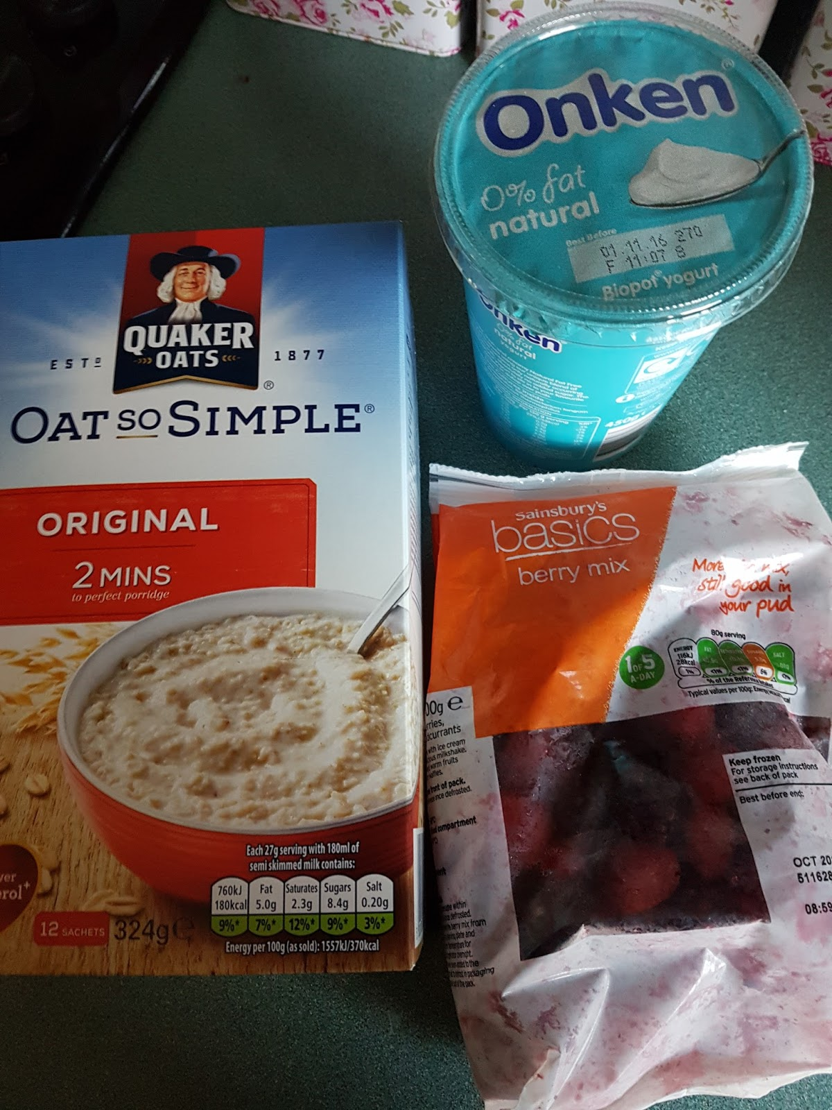 A New Chapter Recipe Slimming World Overnight Oats