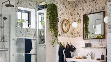 ¿Tienes un baño pequeño y desangelado? IKEA nos cuenta sus trucos para dejarlo funcional ¡y precioso!