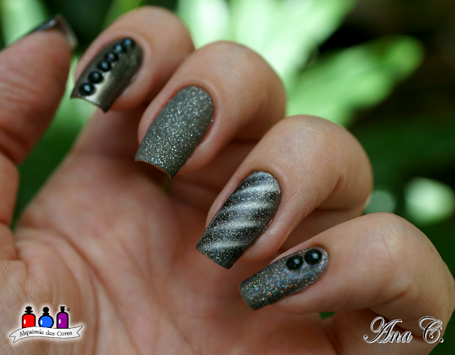 mix and match, mix `n match, OPI Is That Silva?, Zoya London, Dance Legend Sword of Mercy, Impala Na Mira 3D, OPI DS Pewter