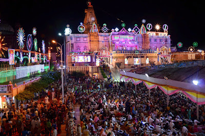 Janmashtami Celebration in Temple