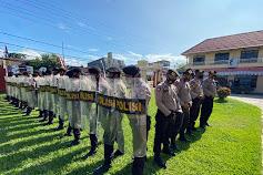 Gelar Latihan Pengendalian Massa Kesiapan Pengamanan Pilkada Luwu Utara