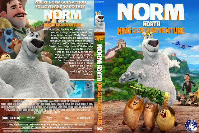 Norm of the North: King Sized Adventure DVD Cover