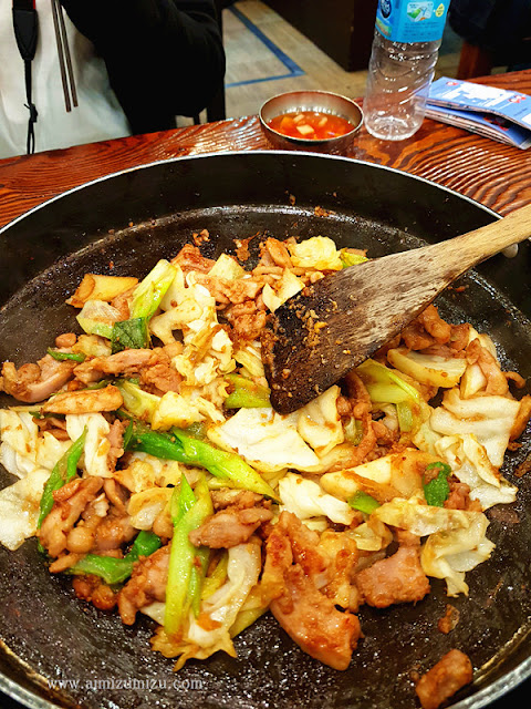 Chicken Galbi Yoogane