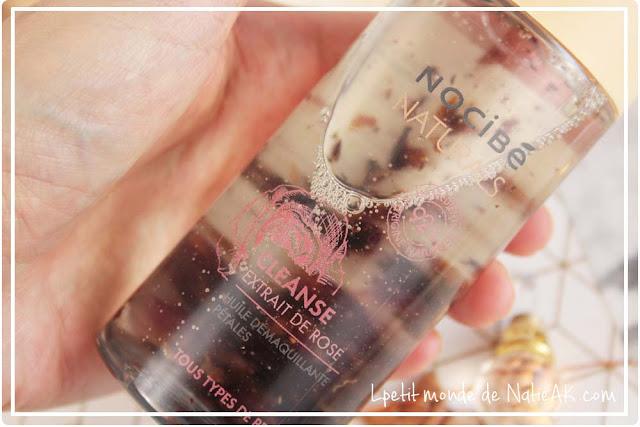 L'huile démaquillante Cleanse à la rose  Nocibé