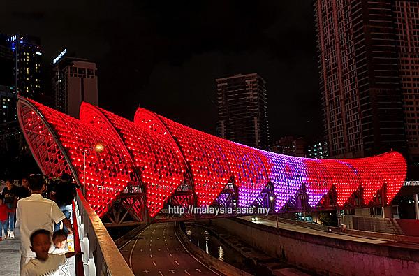 New Bridge in Kuala Lumpur
