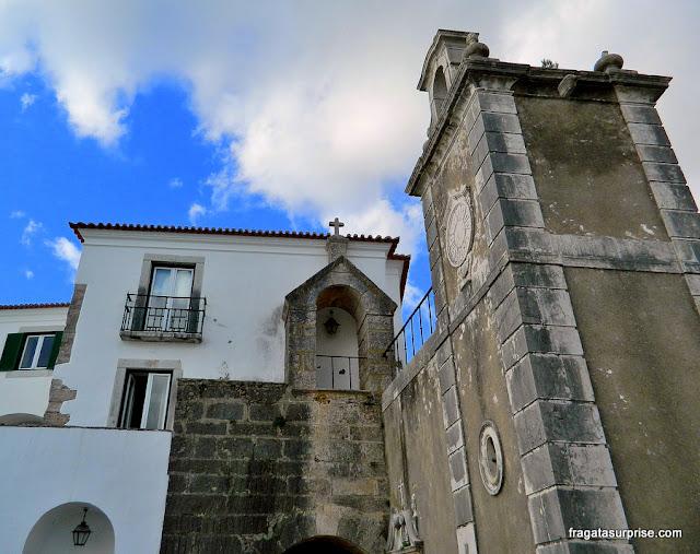 Castelo de São Filipe, em Setúbal, Portugal