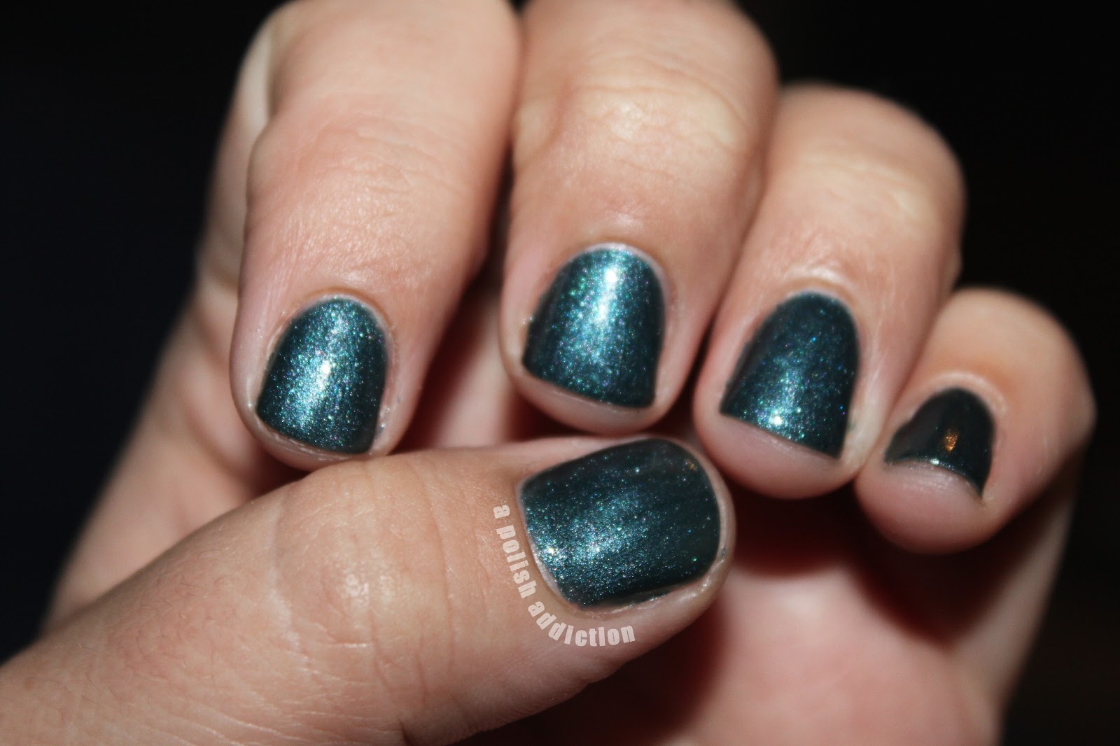 A Polish Addiction Sensational Gel Nail Polish Swatch