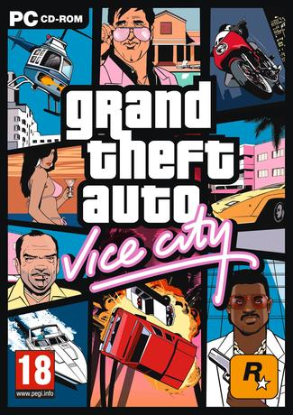 GTA Vice City PC Game Cover