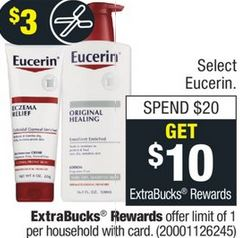 FREE Eucerin Calming Lotion at CVS 3/8-3/14