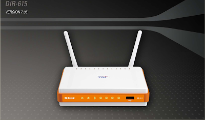 TM UniFi D-link DIR615 Router