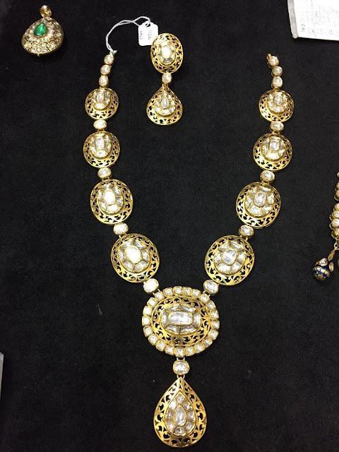 Big Polki Necklaces
