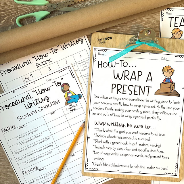 winter writing activities for upper elementary
